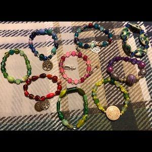Jewelry - Lot 9 ** 9 homemade bracelets